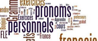 pronoms personnels sujet