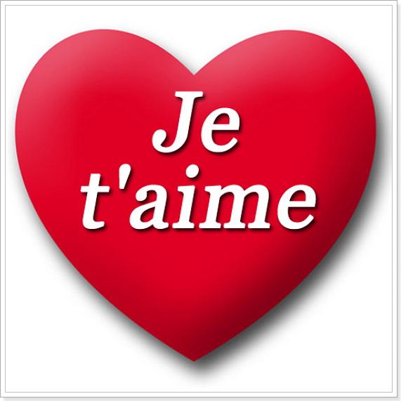 как признаться в любви на французском языке лексика